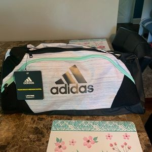 NWT adidas duffle Bag